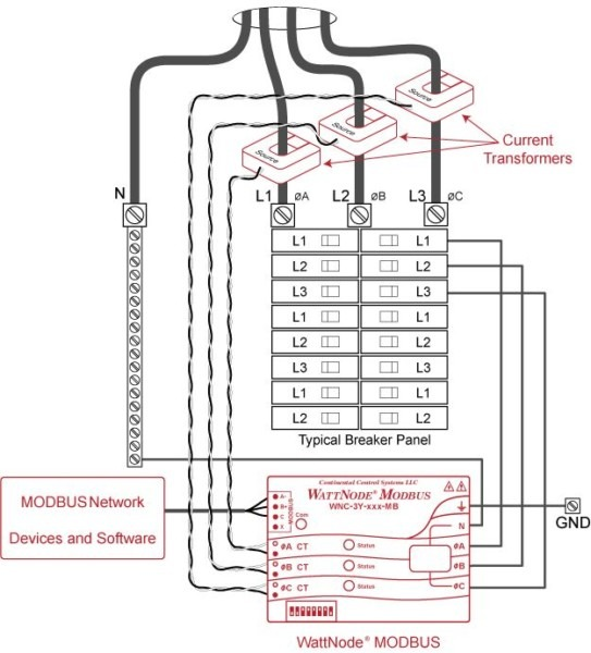 220 3 Phase Wiring Diagram