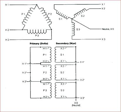 3 Phase To 1 Phase Wiring Diagram