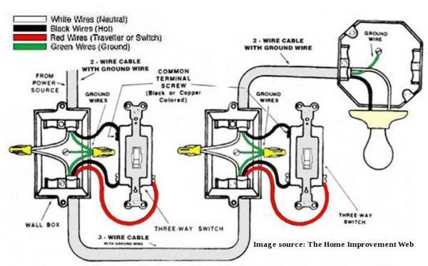 3 Way 2 Light Wiring