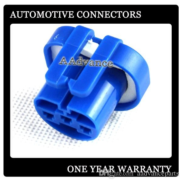3 Way Automotive Headlight Connector Plug Female 9004 Hb1 9007 Hb5