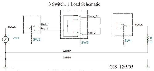 4 Way Switch Circuit