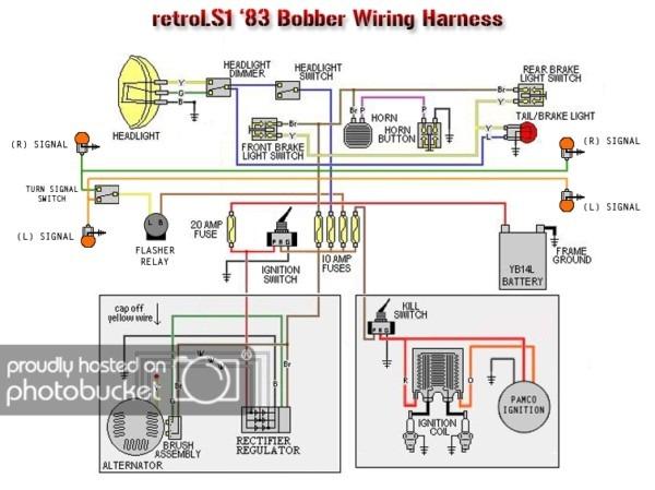 83 Xs650 Bobber  Rat's Nest