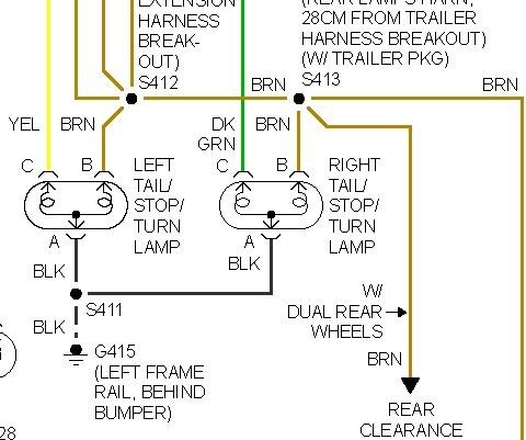 97 Chevy 2500 Trailer Wiring Diagram