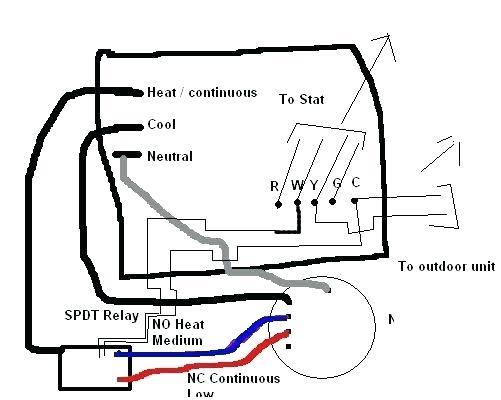 A C Blower Fan Wiring
