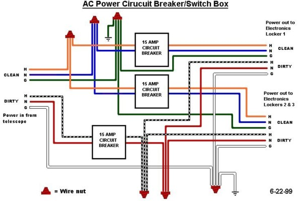 Junction Box Connection Diagram