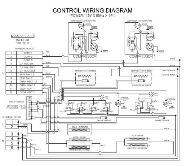 Amana Refrigerator Wiring Diagram