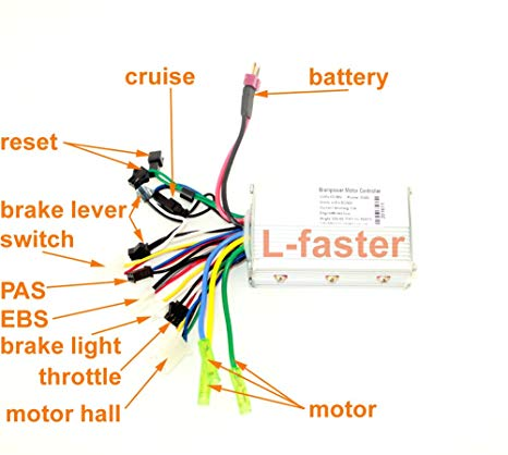 Electric Bicycle Controller Wiring Diagram