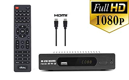 Amazon Com  Dtv Converter Box + Hdmi Cable For Recording And