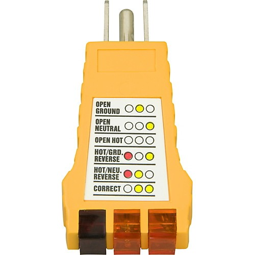 American Recorder Technologies Ground Fault Outlet Receptacle