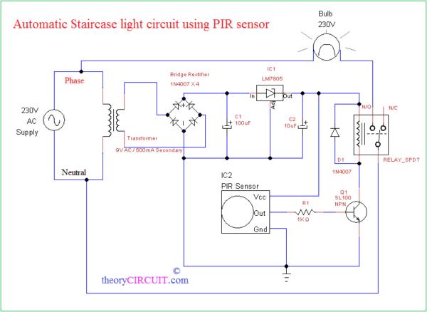 Lighting Schematic Diagram