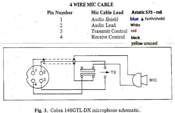 Astatic 575 M6 Wiring Diagram