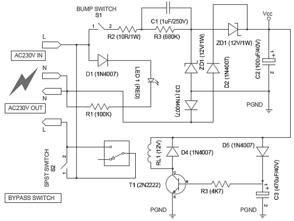 Power Switch Diagram