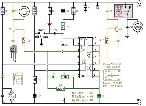 Basic Home Wiring Circuit Design