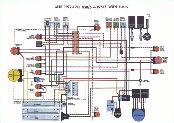Bmw R60 5 Wiring Diagram
