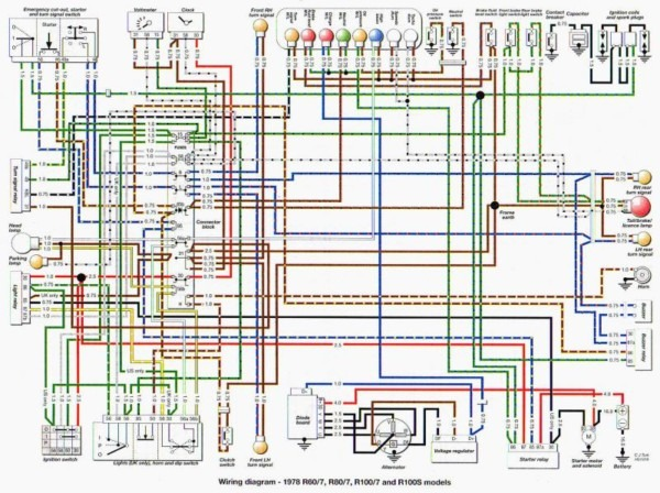Bmw R60 7 Wiring Diagram