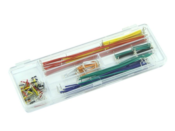 Breadboard Jumper Wire Set (140 Pcs Pack)