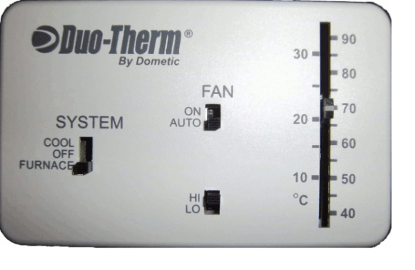Buy Openbox Dometic 3106995 032 Analog Thermostat Cool Only