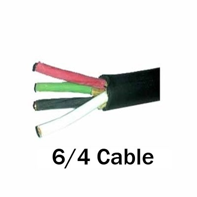 Cable, 6 4 Soow Portable Power Cable By The Foot