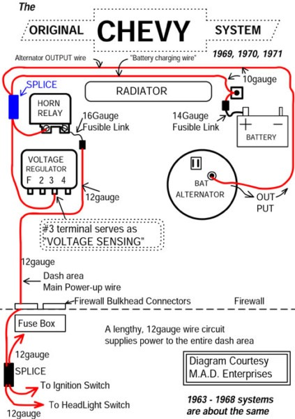 69 Chevy C10 Wiring Diagram