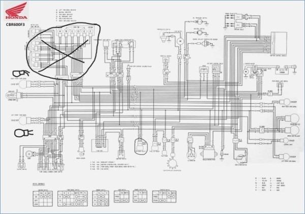 Cbr 600 Wiring Diagram