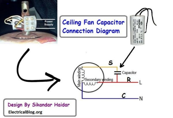 Electric Fan Winding Connection