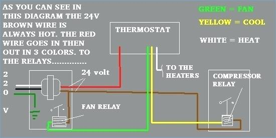 How To Wire A Central Air Conditioner Thermostat