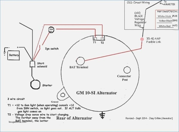 Chevy 3 Wire Alternator Plug Wiring Diagram
