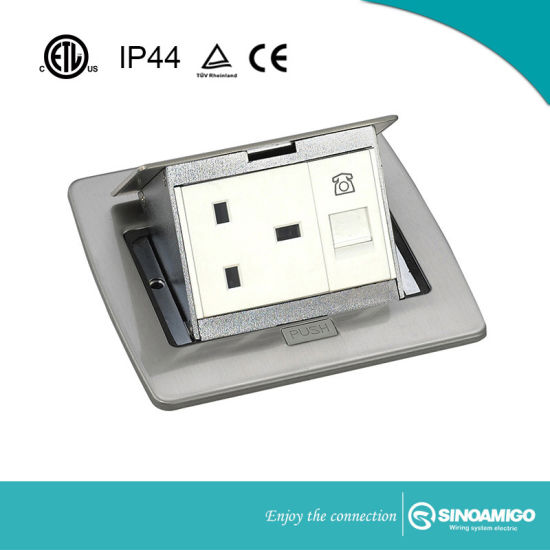 China Pup Up Floor Socket Outlet Box