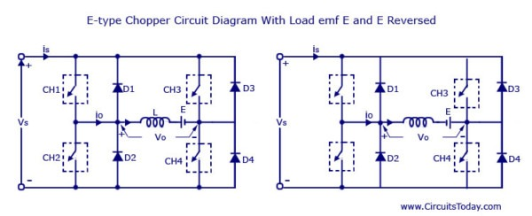 Chopper Ups Circuit Diagram