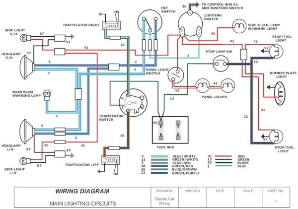 wire diagrams for cars rh chanish org free classic car wiring diagrams vintage car radio wiring diagram