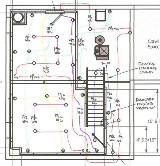 Complex Lighting Circuit Wiring