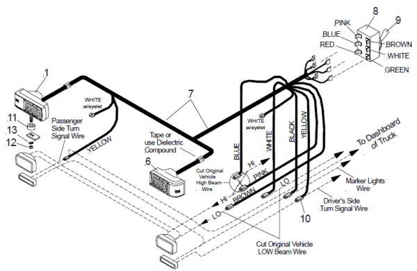 Curtis Snow Plow Wiring Diagram