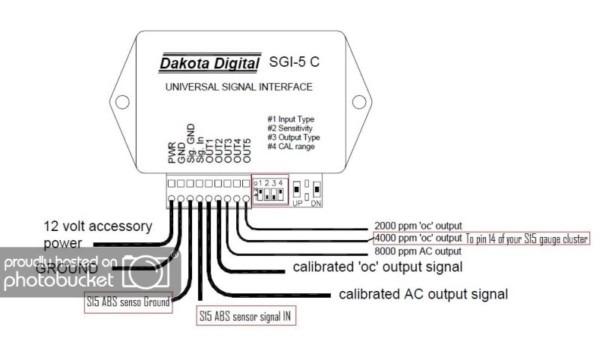 Dakota Digital Wiring Diagram on