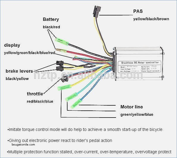 E Bike Throttle Wiring Diagram