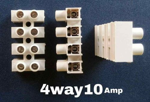 Ekta Products 4 Way 10 Amps Connector, Rs 1  Piece, Bhatia