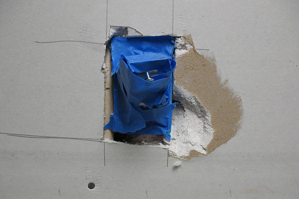 Electric Outlet Drywall Repair Â« Remodeling For Geeks