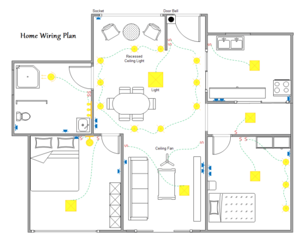 Electrical House Wiring Home Wiring Plan Software Making Wiring