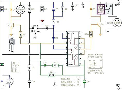 Electrical Schematic Installation Diagram