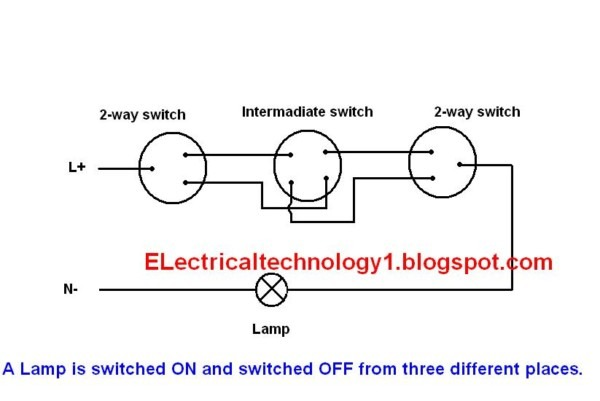 Electrical Technology  How To Control One Lamp From Three