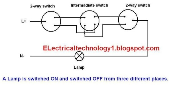 Electrical Technology  What Is Intermediate Switch, Its
