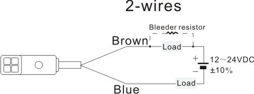 F3n Series Rectangle Proximity Sensors