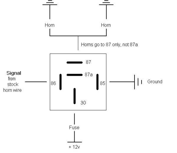 Fiamm Relay Wiring Diagram