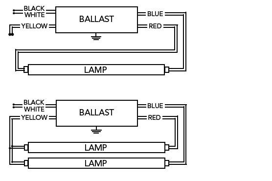 Flurecent Light Wiring Diagram Series