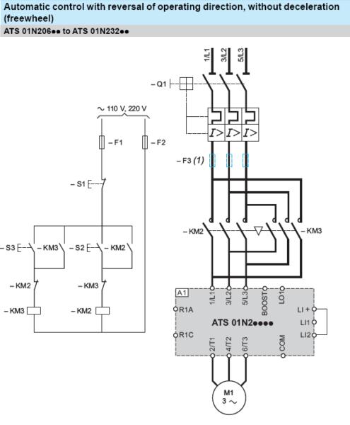 Forward And Reverse Motor Starter Wiring Diagram