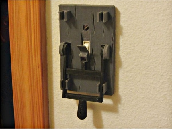 Frankenstein Light Switch Plate By Lobocnc