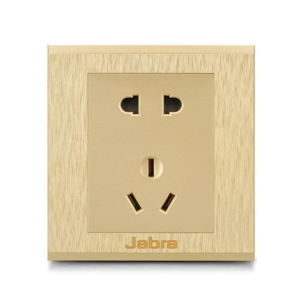 Free Shipping Luxury Wall Electrical Socket Multifunction 5 Hole