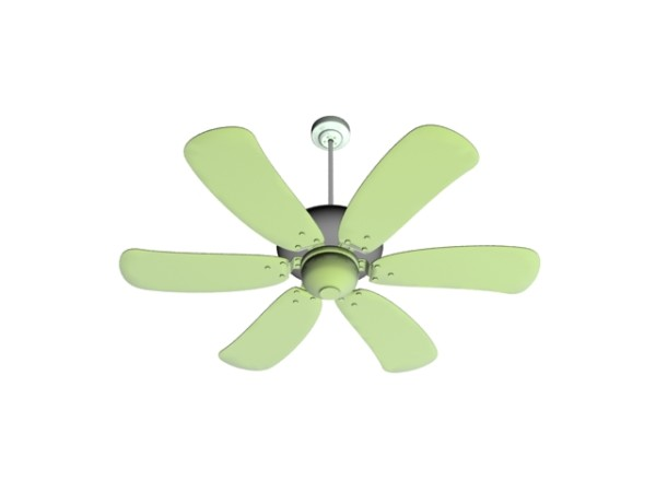 Green Ceiling Fan 3d Model 3ds Max Files Free Download