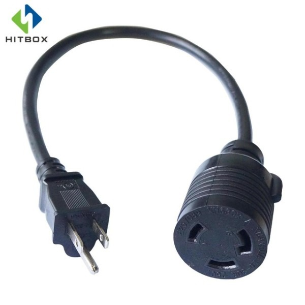 Hitbox Adapter Cord 1 5 Feet 14 Awg Power Extension Cord L6 30r