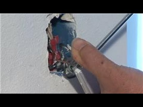 Home Electrical Repairs   How To Fix A Wall Light Switch