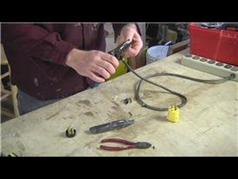 Home Help   How To Put A New Plug On A Tool Or Extension Cord